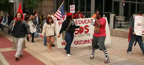 Mayday march in Dallas