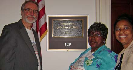 retirees at Jeb Hensarling's office