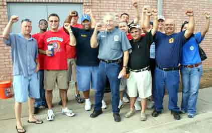 Solidarity Supporters at UAW 218 Hall